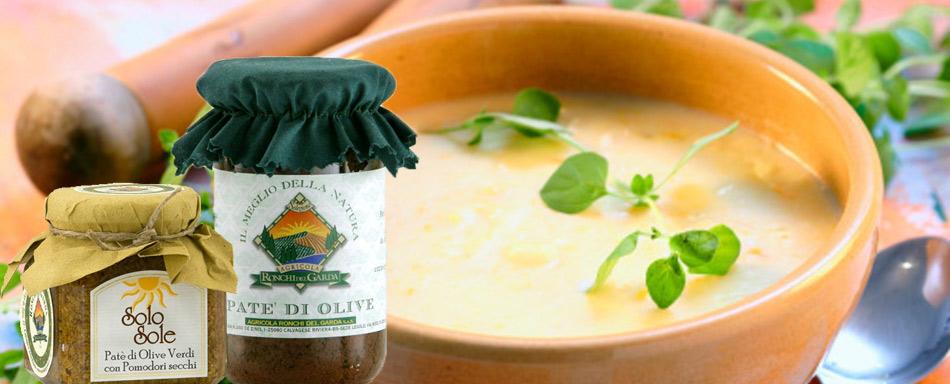 Ronchi del garda produce deliziosi patè e gustosissime creme vegetariane