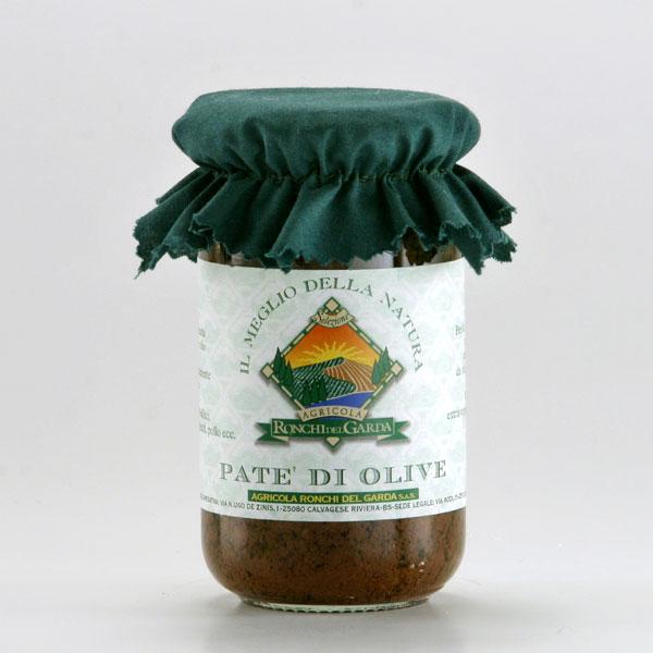 Patè di olive nere del Garda