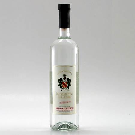 Distillato di uva (uve rosse DOC)